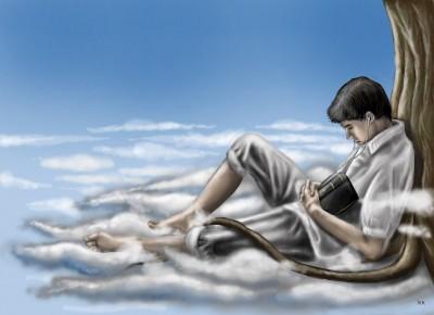 0094.A daydreamer