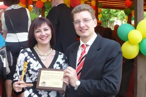 Su LŽS pirmininku Dainiumi Radzevičiumi