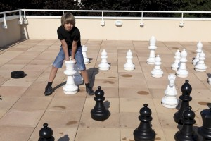 labai megsta zaisti shachmatais