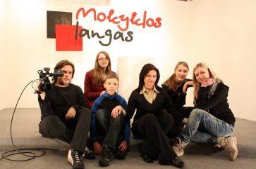 """Jeg jobbet i Riks TV programmet """"Skolens vindu"""" som programleder (Litauen)"""